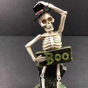 Halloween Resin Skeleton